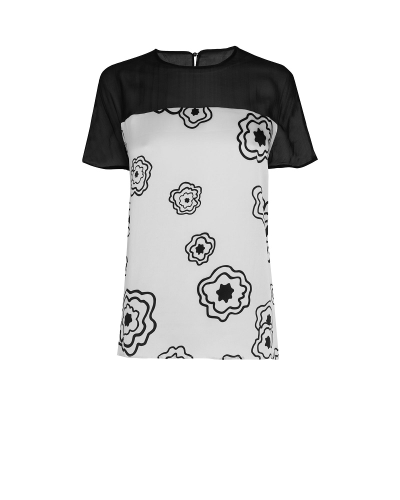 JAEGER  poppy top currently 78% off