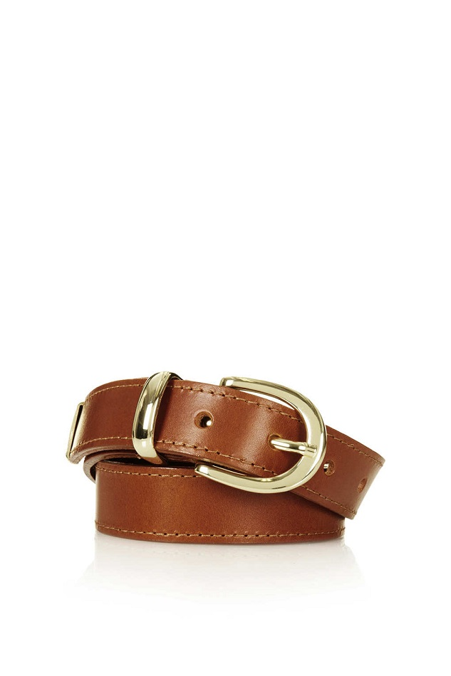 TOPSHOP   leather belt