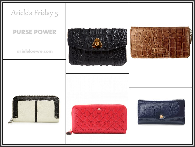 Ariele's Friday 5 Purse Power