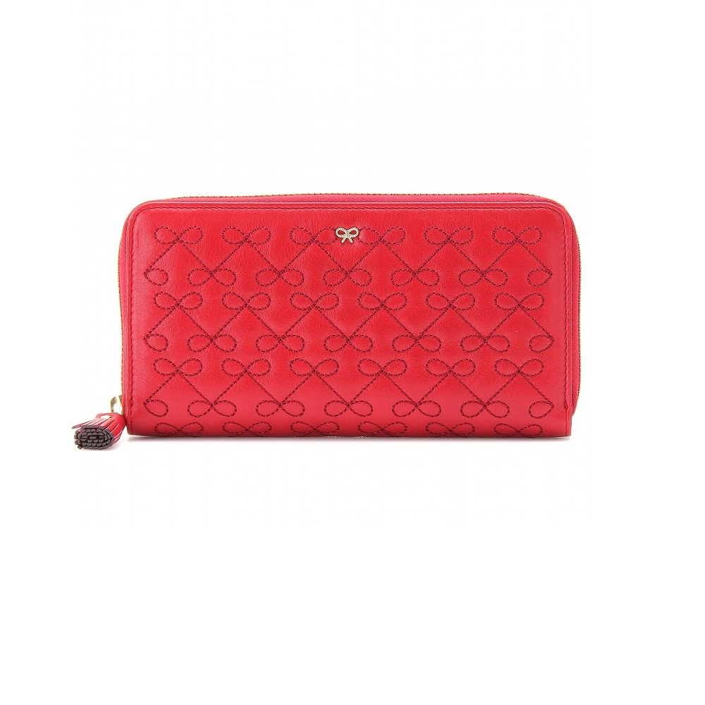 ANYA HINDMARCH wilkes   leather wallet