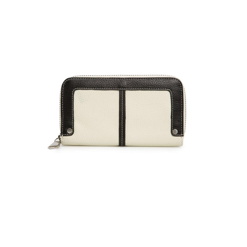 MANGO   two tone wallet
