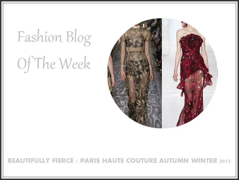Blog Of The Week Paris Haute Couture Autumn Winter 2013