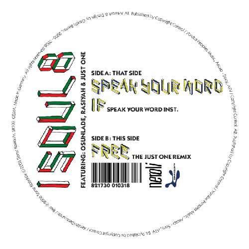 ISOUL8 - Speak Your Word