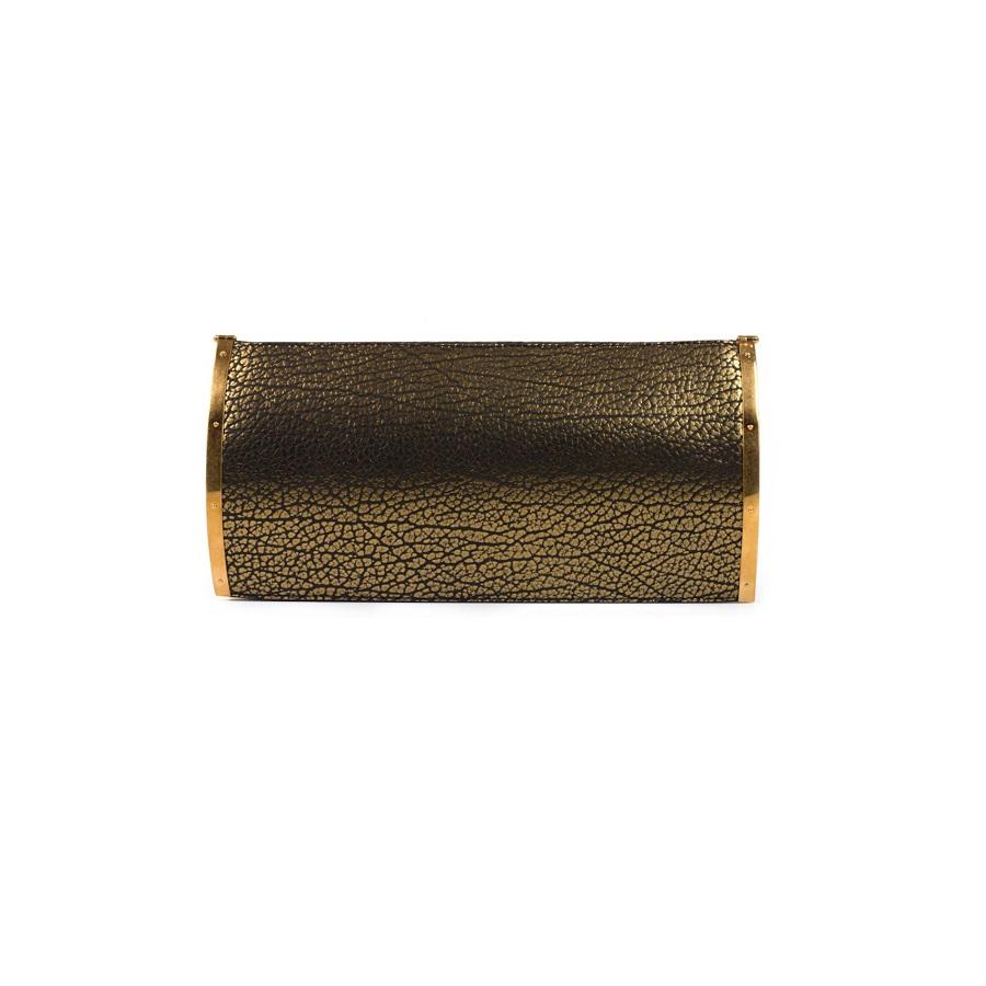 MAIYET bronze-black ayla   clutch bag