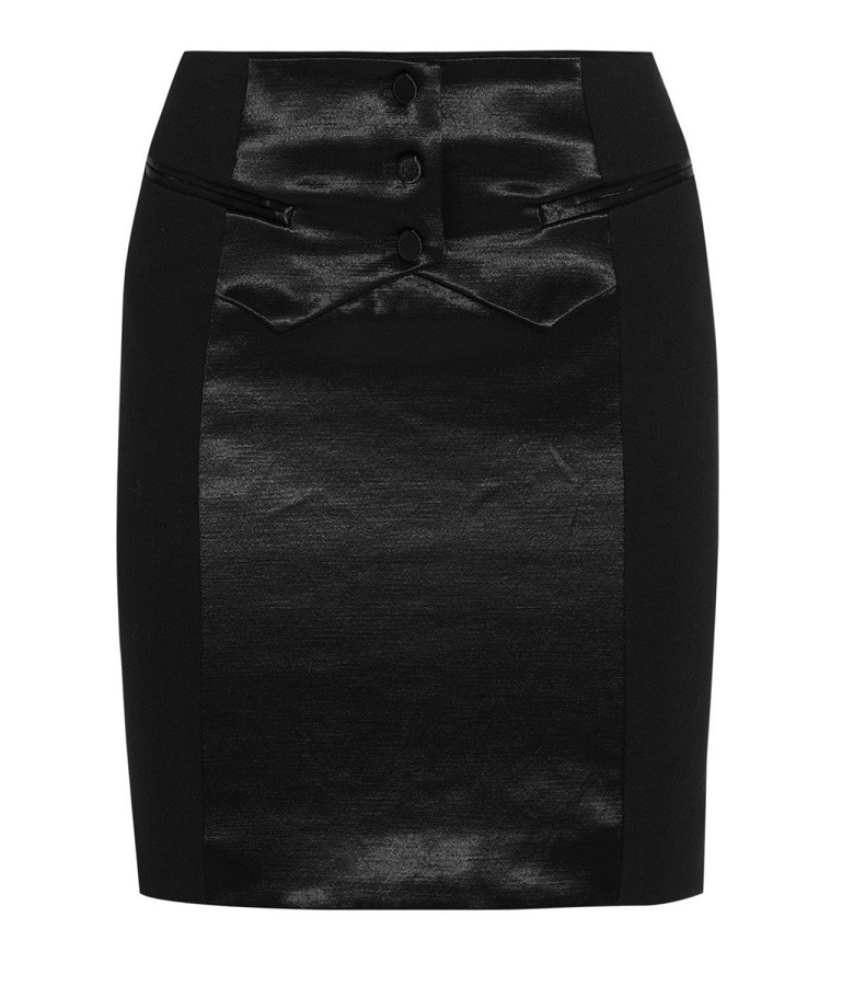 ALEXANDER WANG   tuxedo skirt   currently 75% off
