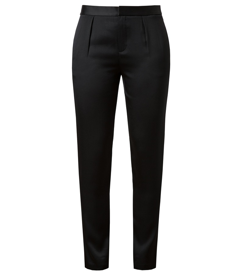 ALEXANDER WANG crepe satin tapered trouser