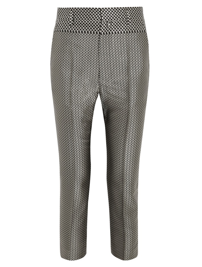 HAIDER ACKERMANN jacquard tapered trouser