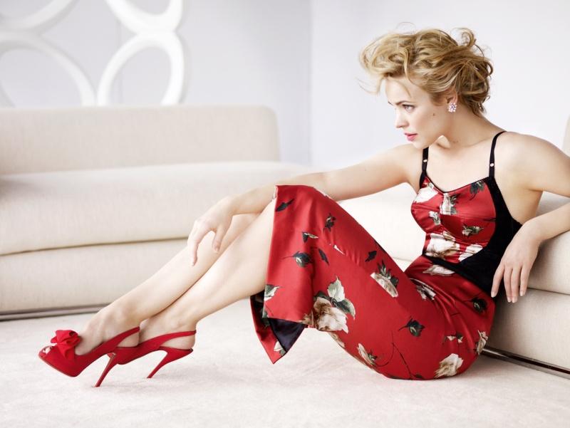 Mario Testino / Rachel McAdams / Vogue US / January 2010