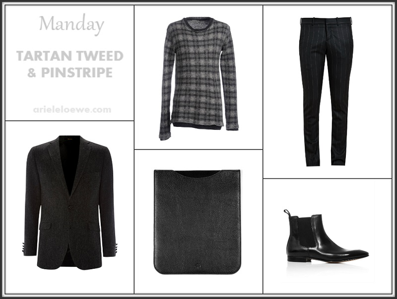 Manday Tartan, Tweed and Pinstripe