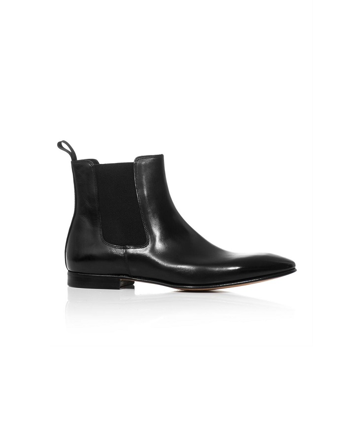 CAMPANILE nelson leather chelsea boot