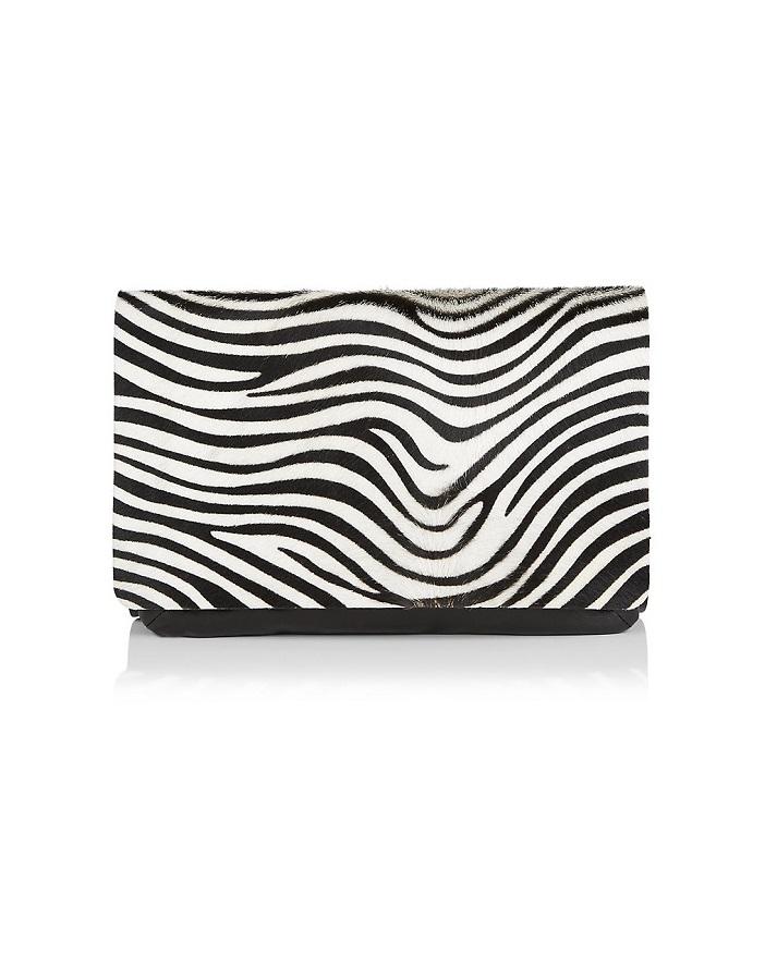 JOSEPH zebra pouch