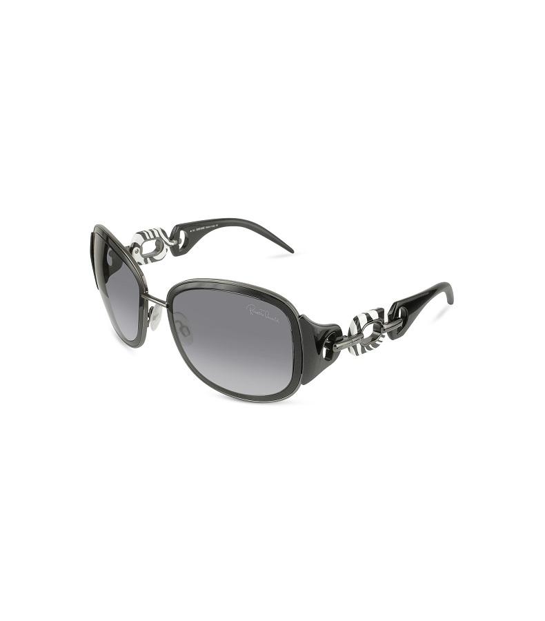 ROBERTO CAVALLI black dalia zebra sunglasses