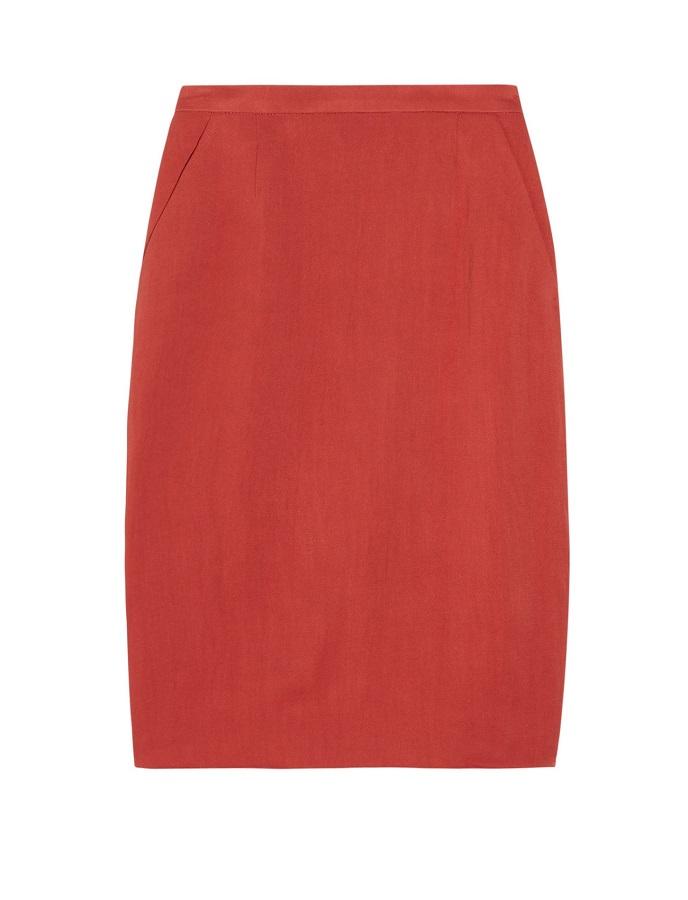 NICOLE FARHI    drill skirt   - currently 60% off