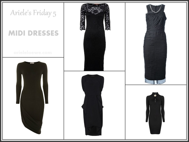 Ariele's Friday 5 Midi Dresses