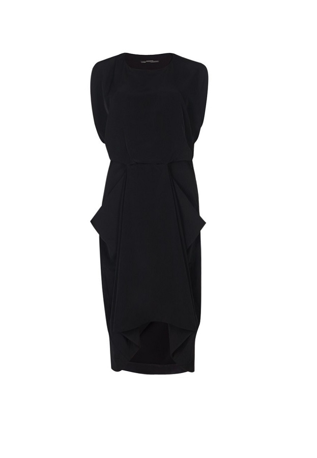 ALLSAINTS   zoe midi dress