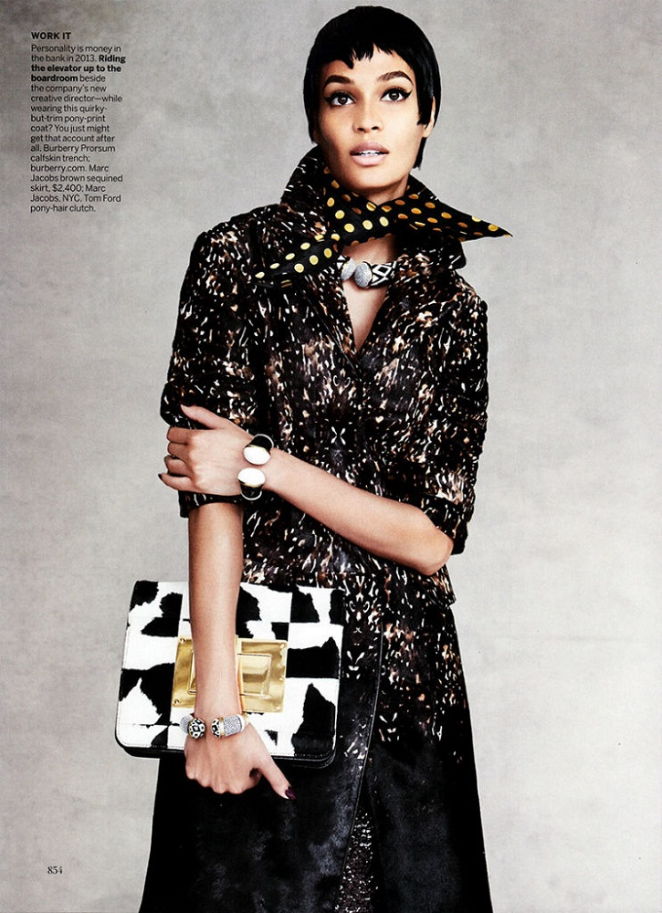 Patrick Demarchelier / Joan Smalls / Vogue US / September 2013