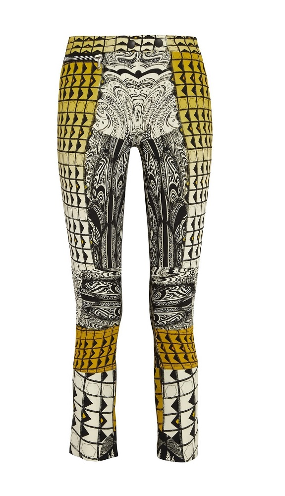 ETRO   printed cropped pants