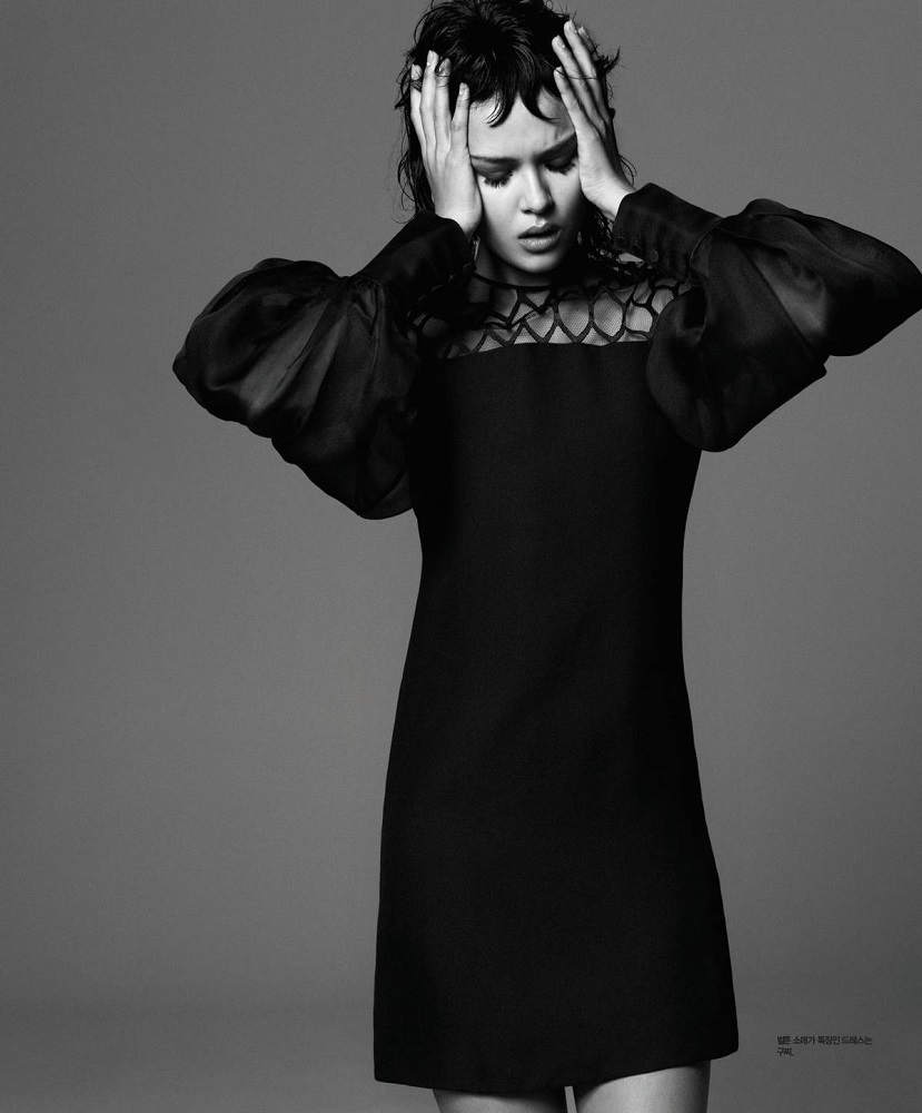 Hong Jang Hyun / Josephine Skriver / Singles Korea / August 2013