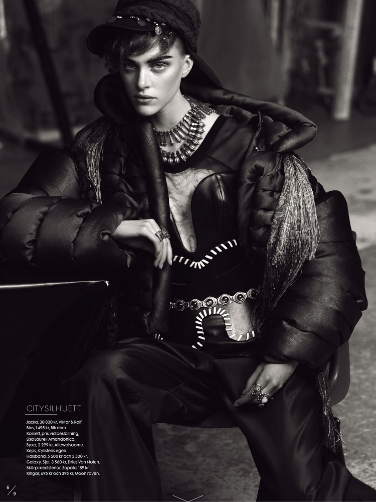 Benjamin Vnuk / Hedvig Palm / Elle Sweden / September 2013