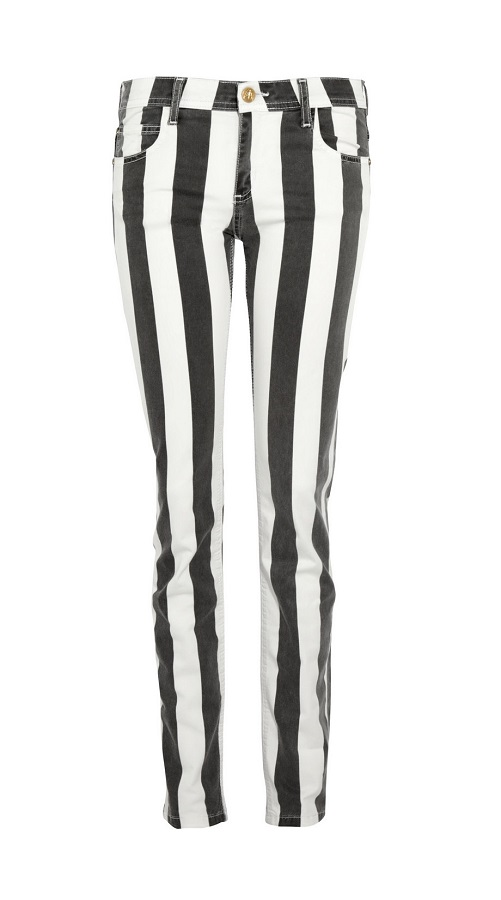 FAITH  CONNEXION striped   mid-rise jeans   currently 42% off