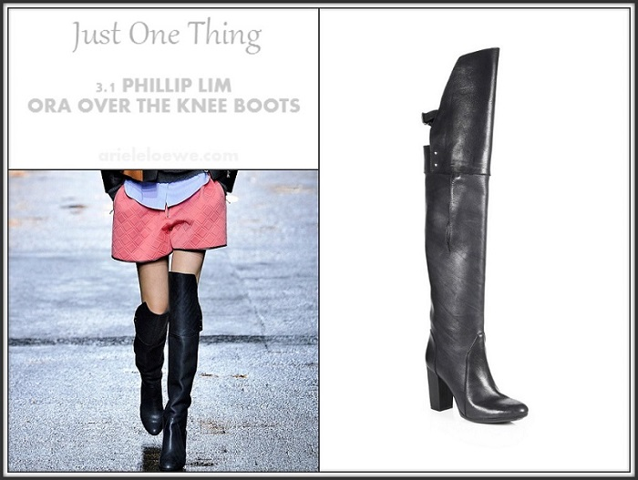 3.1 Phillip Lim Ora Over The Knee Boots