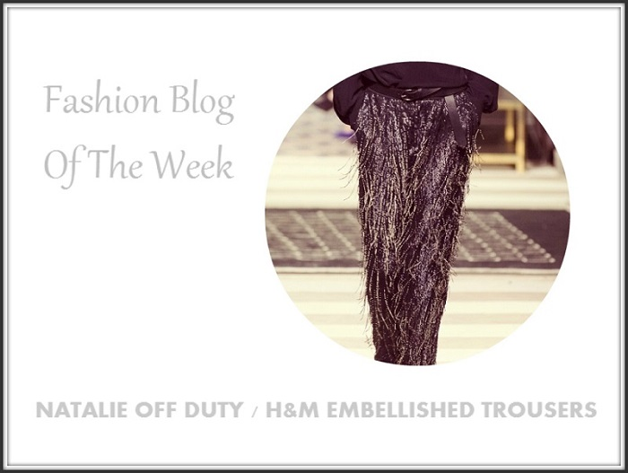 H&M Embellished Trouser Autumn Winter 2013