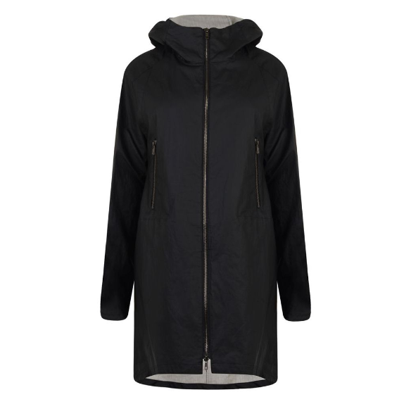THEORY   waxed  cotton parka - currently 41% off