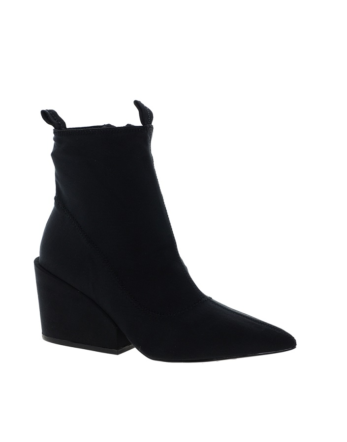 CHEAP MONDAY   cube heeled ankle boots