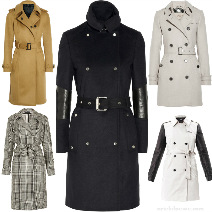 Ariele's Friday 5 The Trench Coat