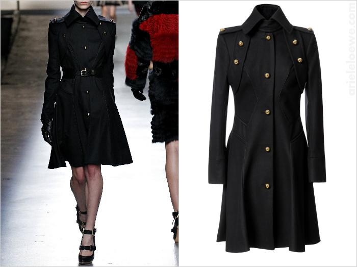 Just One Thing: Prabal Gurung Flared Wool Blend Trench Coat