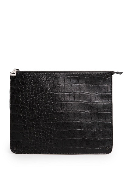 MANGO   croc effect iPad case