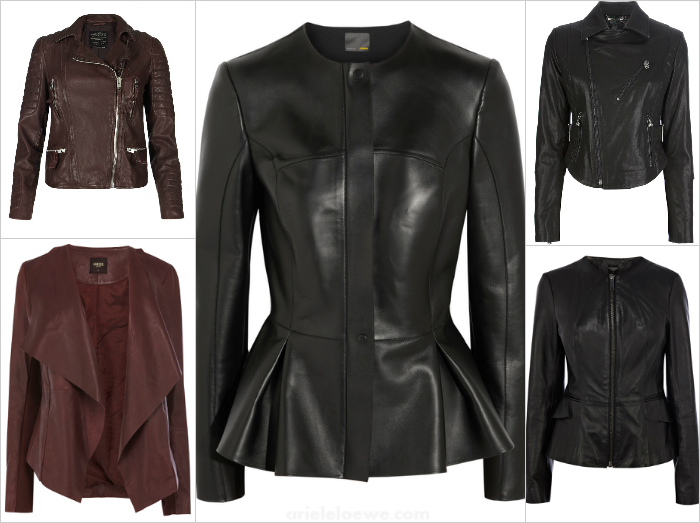 Ariele's Friday 5 Leather Jackets