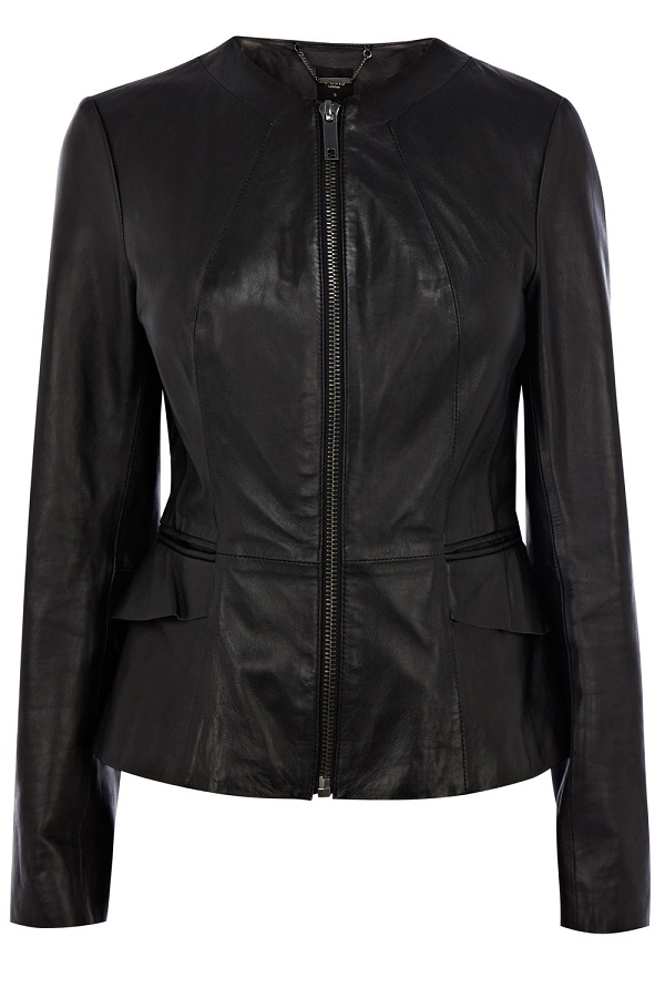 Cleanline leather jacket