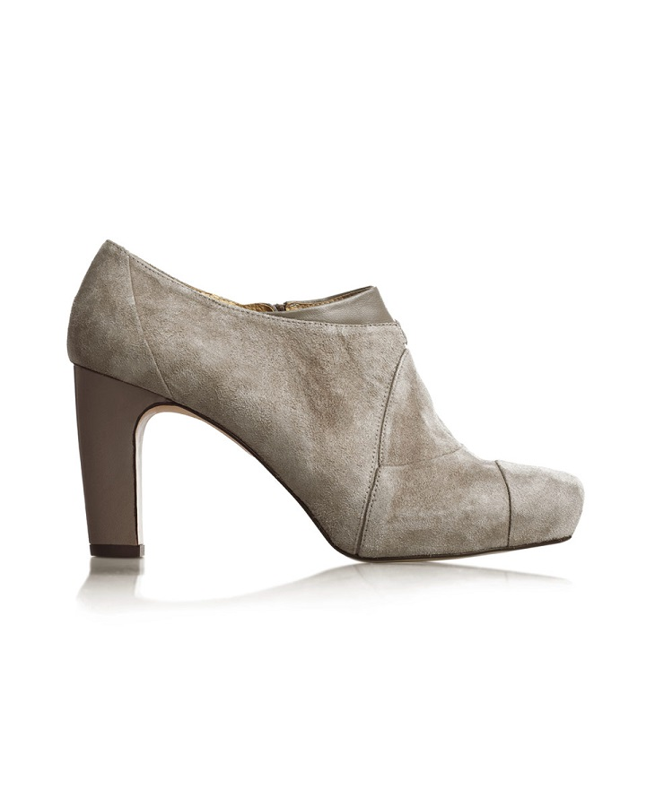 City Shoe Boot In Taupe