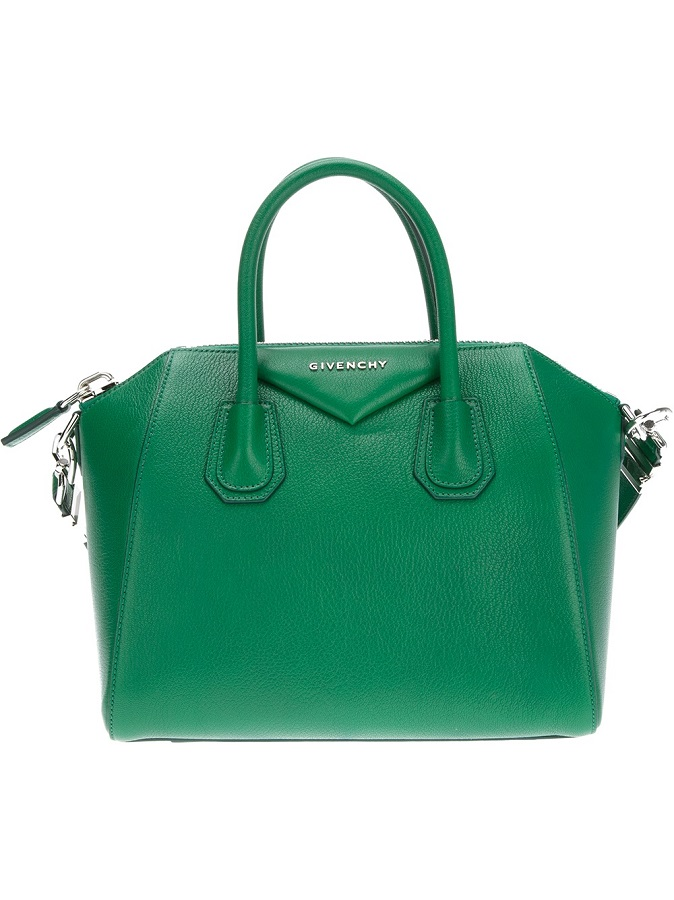 Green Antigona Tote Bag