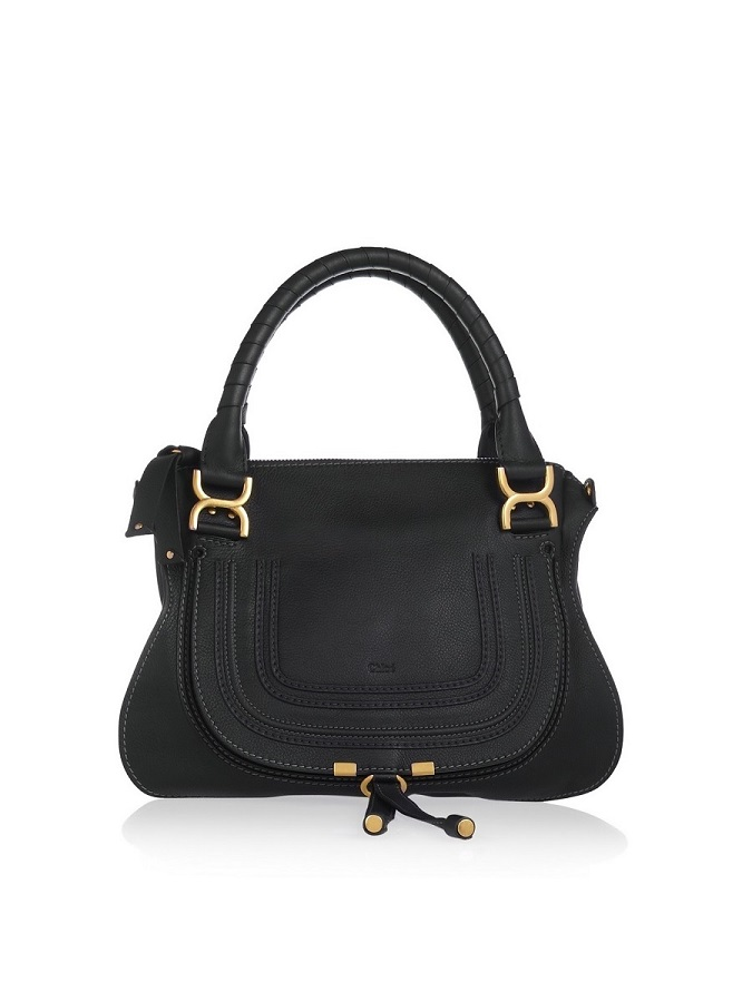 Black Marcie Satchel