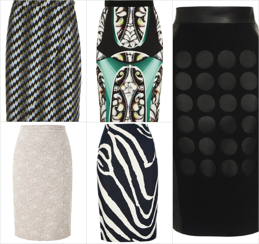 Ariele's Friday 5 Pencil Skirts