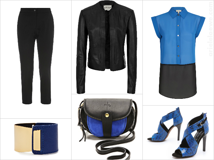 A Way To Wear Cobalt Blue
