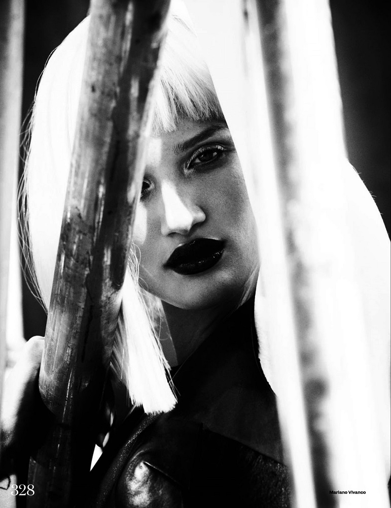 Mariano Vivanco / Rosie Huntington-Whiteley / Elle UK / October 2013