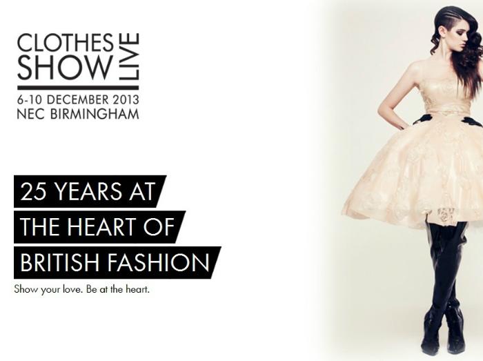Fashion Entertainment & Theatre Clothes Show Live 2013