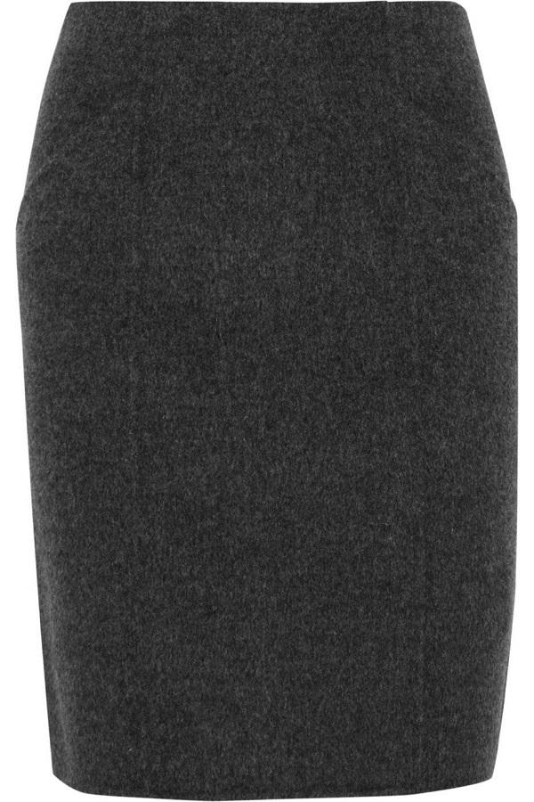 Nuria Wool Felt Skirt