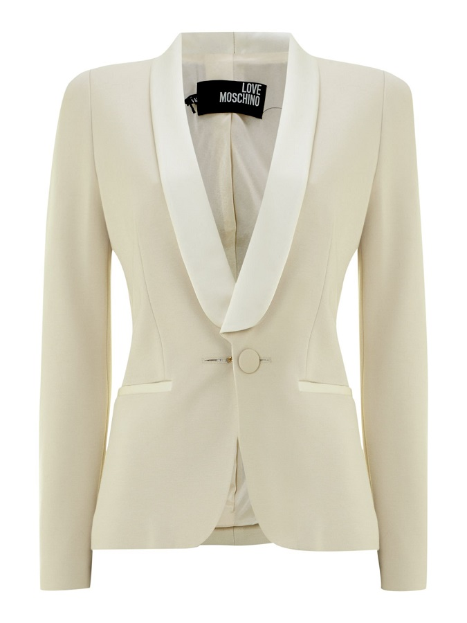 Tux Jacket With Satin Collar