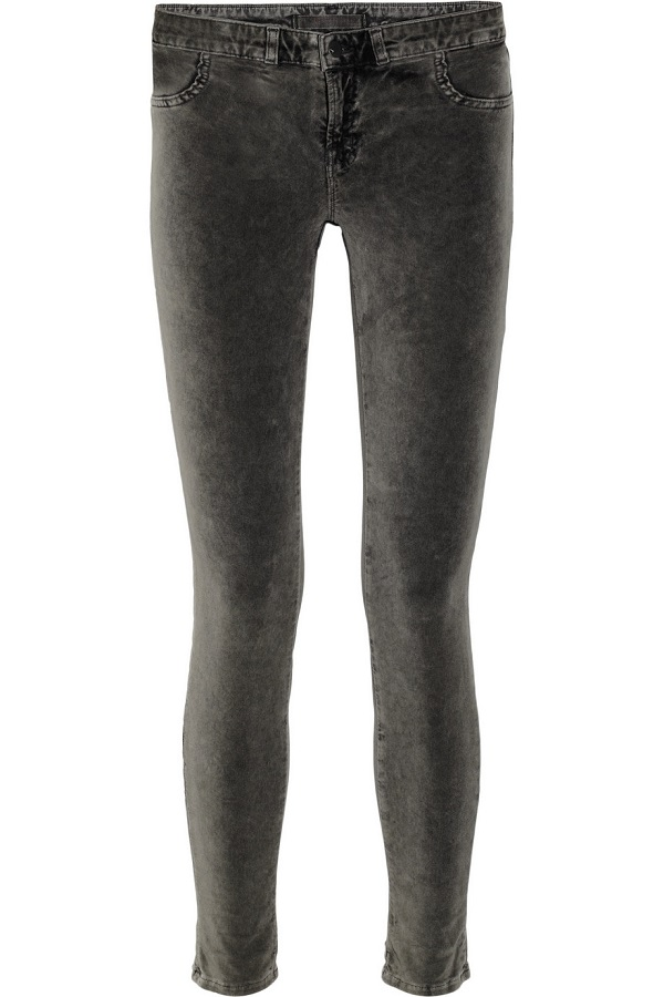 801 Mid Rise Skinny Jean In Anthracite