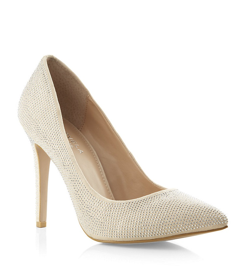 Embellished Court Shoe