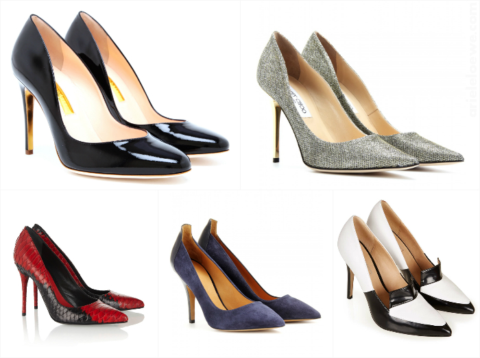 High Heel Pumps For Work & Play