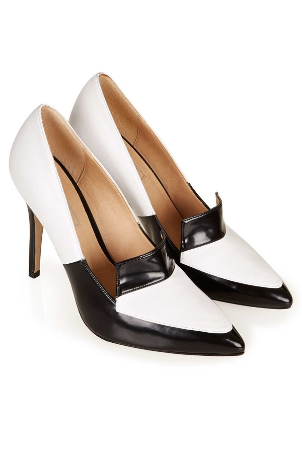 Black & White Pumps