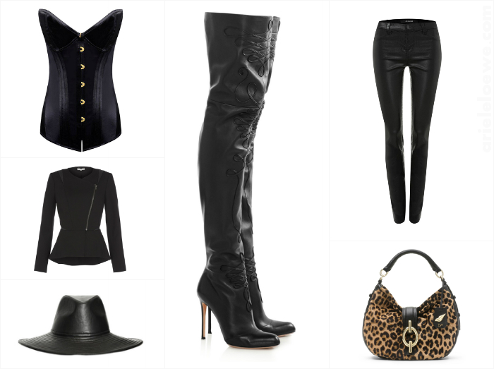 A Way To Wear Altuzarra Leather Embroidered Thigh Boots