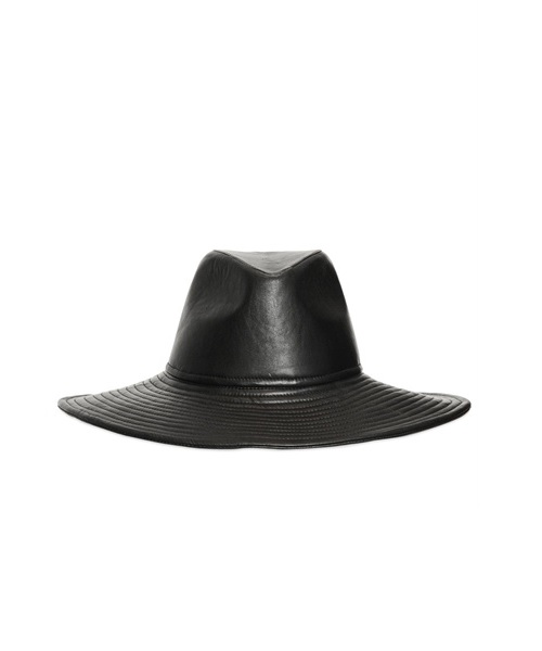 Nappa Leather Hat