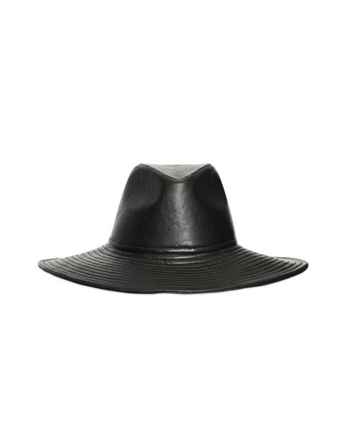 Nappa Leather Hat