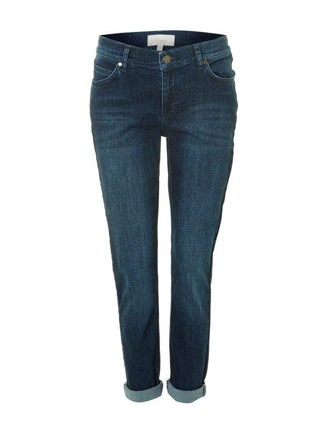 Slim Leg Boyfriend Jeans